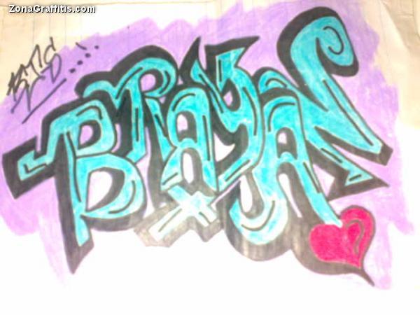 Graffitis que digan brayan - Imagui