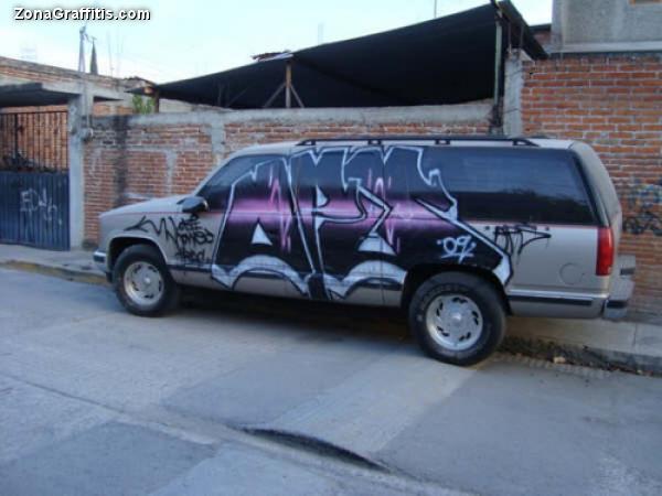 Rubar Zonagraffitis Unidad Graffiti