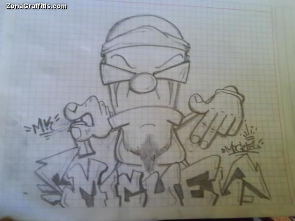 Dibujos de lapiz de graffitis de amor - Imagui