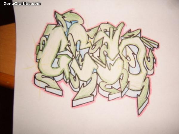 Letra de Graffitis