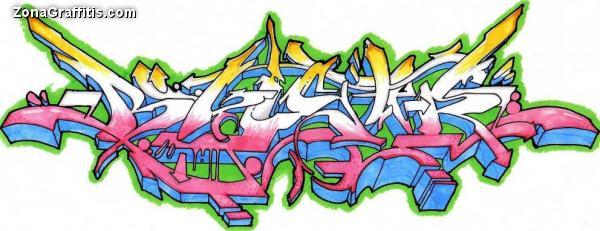 Varios GRAFFITIS wild style,3D,bubble y MAS.
